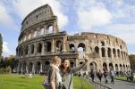Selfie am Colosseum